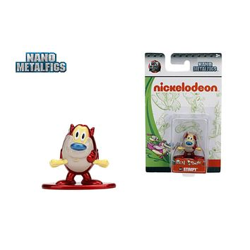 Jada Nano Figures Nickelodeon Figure NK12 Ren and Stimpy Stimpy