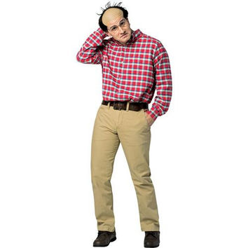 Men's Costume: Seinfeld - George (Shirt & Glasses)