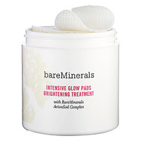 bareMinerals bareMinerals Intensive Glow Pads Brightening Treatment (60 Pads Intensive Glow Pads Brightening Treatment)