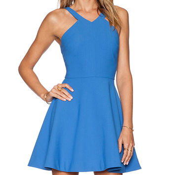 Elizabeth and James Sonya Dress in Blue