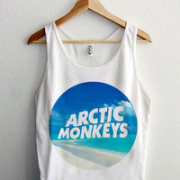 arctic monkeys awesome tanktop