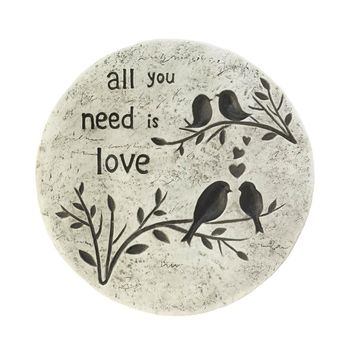 Garden Stepping Stone All You Need Is Love