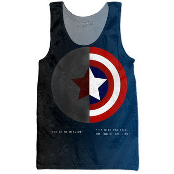 Captain America And Winter Soldier Tank.
