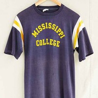 Vintage Mississippi College Tee- Assorted One