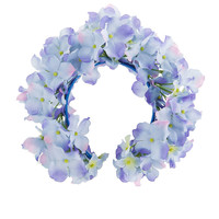 Blue Hydrangea flower crown - Lady Petrova