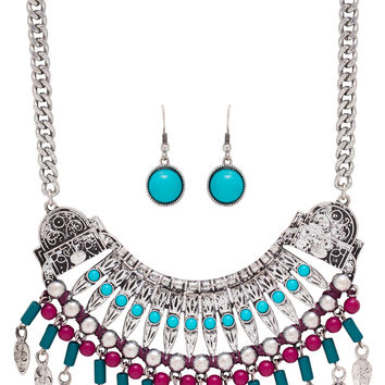 Anthea Necklace - Turquoise