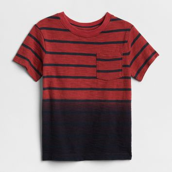 Stripe Dip-Dye T-Shirt | Gap