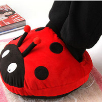 Cute Red Beetle USB Heating Shoes Warmer by unusual