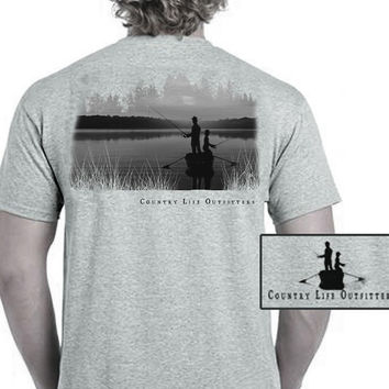 Country Life Outfitters Vintage Fishing Buddy Unisex T-Shirt