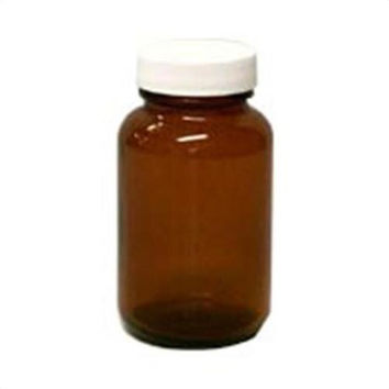 Frontier Herb Spice Jar Amber Round with Cap and Label 4 oz