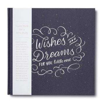 Wishes & Dreams for You, Little One: A Guest Book for a New Baby