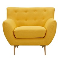 Karina Armchair Papaya Yellow