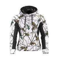 Trail Crest Womens Fleece Lined Camouflage Hoodie