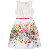 Lesy Belted Floral Dress | Harrods.com