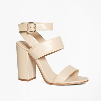 Tall Ankle-Strap Sandals - Brooks Brothers
