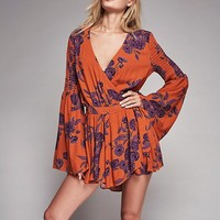 Free People Forever Love Printed Tunic