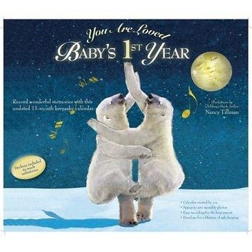 You Are Loved Babys First Year Tillman Art Wall Calend, Baby by Calendar Ink
