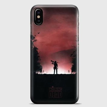 The Walking Dead Artwork iPhone X Case | casescraft