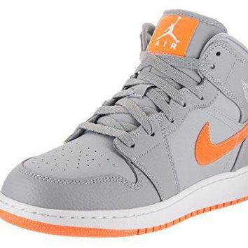 Nike Jordan Kids Air Jordan 1 Mid Bg Basketball Shoe jordan one
