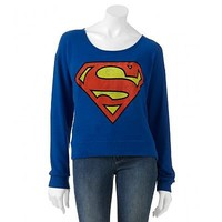 Jerry Leigh Superman Sweater - Juniors