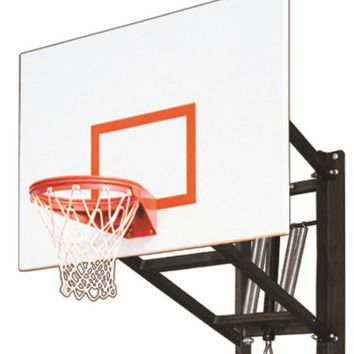 First Team WallMonster Playground Adjustable Wall Mount Basketball Hoop 60 inch Steel