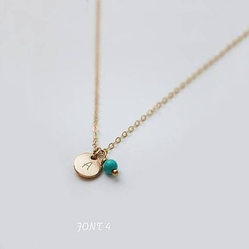 Minimal, Delicate Necklace, Personalized Tiny