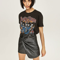 ROLLING STONES CROPPED TOP DETAILS