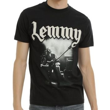 Motorhead LEMMY BORN TO LOSE LIVED TO WIN MEMORIAL T-Shirt NEW 100% Authentic