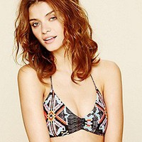 L*Space  Printed Bungee Back Top at Free People Clothing Boutique
