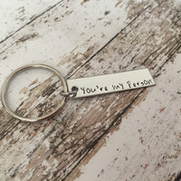 Youre my person keychain, best friend gift, couples gift
