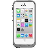 OtterBox LifeProof fre Case for Apple iPhone 5C, White - Walmart.com