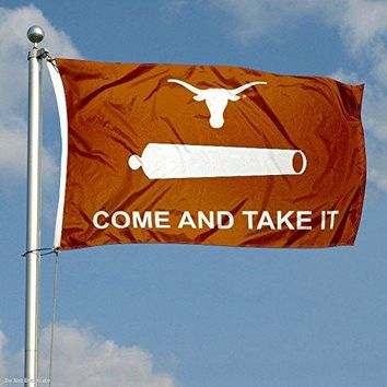 "Texas Longhorn 3' x 5' ""Come and Take It"" Flag"