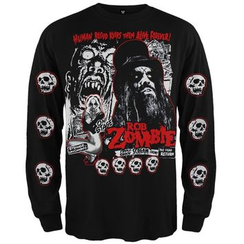 Rob Zombie - Zombie Long Sleeve T-Shirt