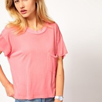 Cheap Monday Boxy T-Shirt at asos.com