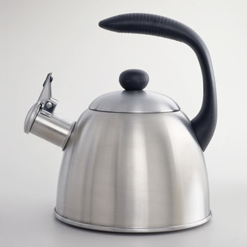 2.5 Quart Stainless Steel Teakettle - World Market