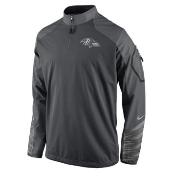 Nike Platinum Fly Rush 2.0 Half-Zip (NFL Ravens) Men's Training Top