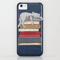 How to Chill Like a Cat iPhone & iPod Case by Micklyn