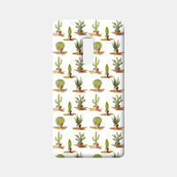 Potted Cactus Pattern One Plus Two Cases | Artist : Seema Hooda