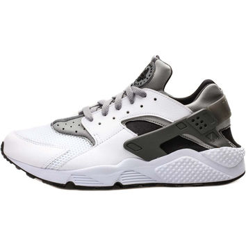 Nike Air Huarache - White Wolf Grey Black from NICE KICKS 956bcdc1b
