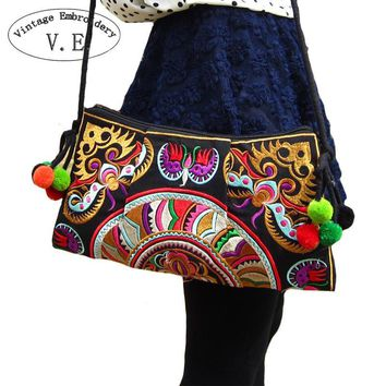 Ethnic Embroidered Cross body Bag