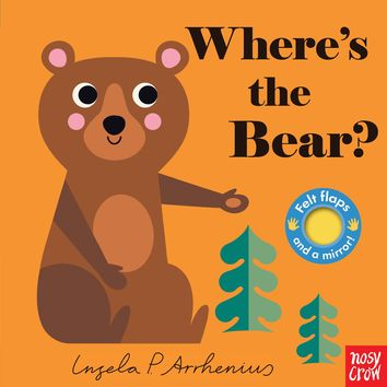 Where's the Bear? Board book – September 11, 2018