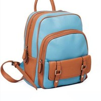 Vintage Style PU Backpack IJN342 from topsales