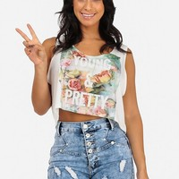 Young And Pretty Crop Top