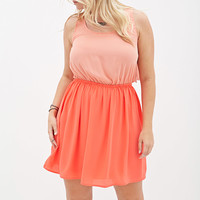 Ombré Fit & Flare Dress