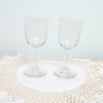 Late Victorian Harlequin Sherry Glass, Small Liqueur Glass, Snifter, Fortified Wine or Port, Clear Glass