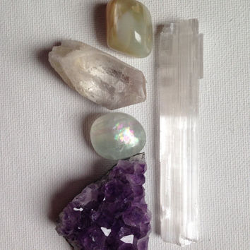 Crystal Collection Beginner Crystal Set Stone Kit Healings Crystals and Stones Crystal Gift Stone Gift