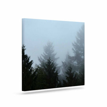 "Robin Dickinson ""Welcome to Earth"" Mist Forest Canvas Art"