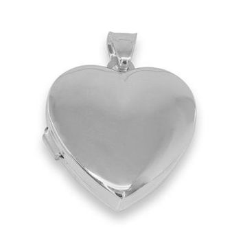 Heart Picture Locket Necklace