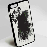 Dean Winchester Supernatural iPhone 4, 4s, 5, 5s, 5c, 6, 6plus, 7 Case
