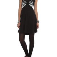 Teenage Runaway Skeleton Hands Dress